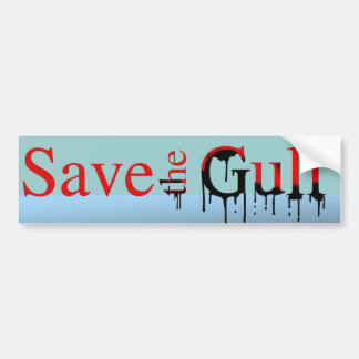 Save the Gulf Bumper Sticker -