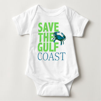 Save the Gulf Coast baby shirt