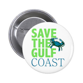 Save the Gulf Coast button