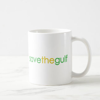 save the gulf coffee mug