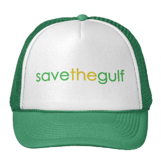 save the gulf trucker hat