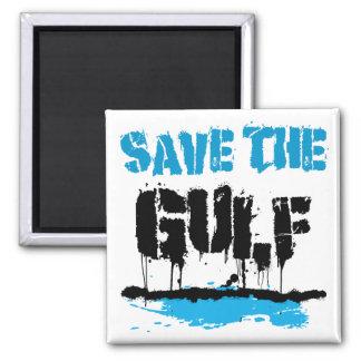 SAVE THE GULF FRIDGE MAGNET