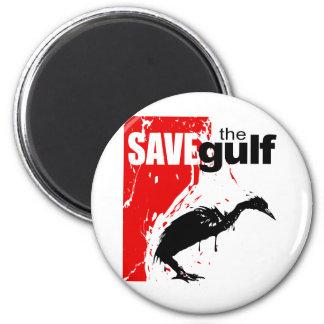 Save the Gulf Refrigerator Magnet