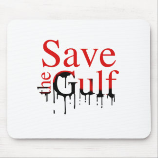 SAVE THE GULF MOUSE PADS