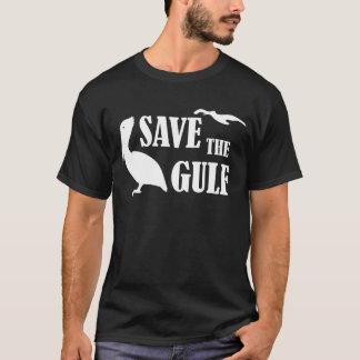 Save the Gulf Pelicans Wildlife Mens Black T-shirt