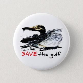 Save the gulf pinback button