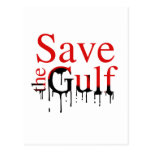Save the Gulf Post Card