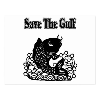 save the gulf postcard