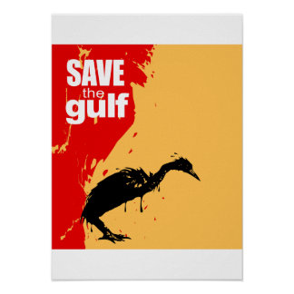 Save the gulf poster