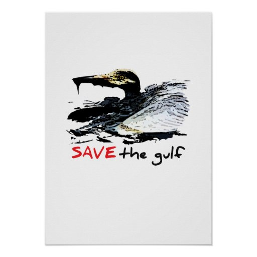 Save the gulf posters