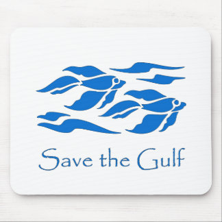 Save The Gulf - School of Fish Mouse Pad
