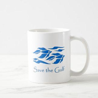 Save The Gulf - School of Fish Classic White Coffee Mug