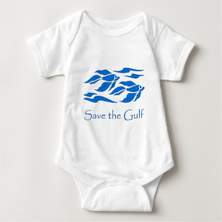 Save The Gulf - School of Fish Tees