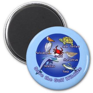 Save the Gulf Wildlife Tshirts Refrigerator Magnets