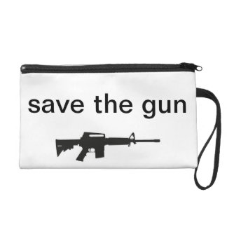 Save The Gun Organizer Wristlet