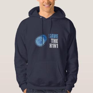 Save the H1N1 Swine Flu! Hoodie