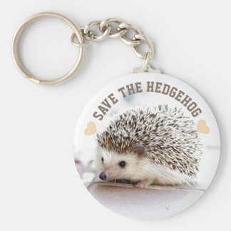 Save The Hedgehog Keychain
