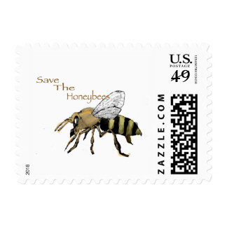Save the Honeybees Postage