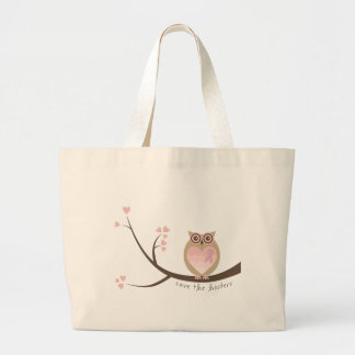 Save the Hooters Canvas Tote