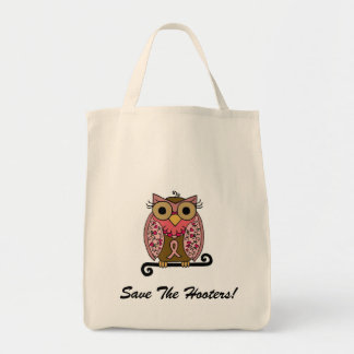 Save The Hooters Owl Bag