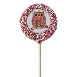 Save The Hooters Owl Chocolate Covered Oreo Pop