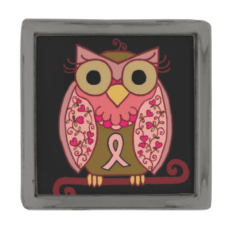 Save The Hooters Owl Gunmetal Finish Lapel Pin