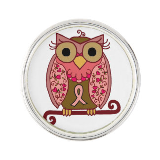 Save The Hooters Owl Pin