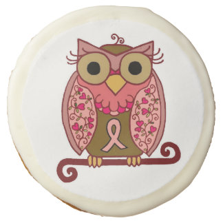 Save The Hooters Owl Sugar Cookie