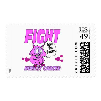 Save The Hooters Postage Stamp