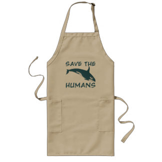 Save the Humans Aprons