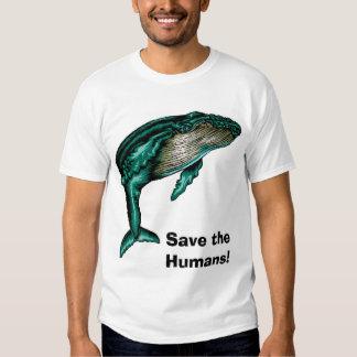 Save the Humans! Shirts