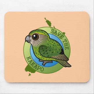 Save the Kakapo Mouse Pad