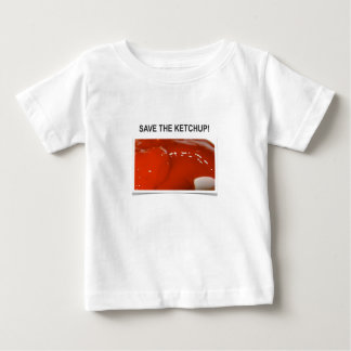 Save the Ketchup! Baby T-Shirt