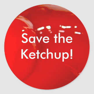Save the Ketchup Sticker