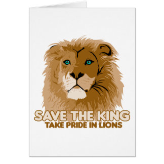 Save The King Card