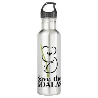 Save the Koalas Water Bottles