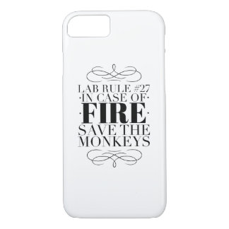 Save the lab monkeys iPhone 8/7 case