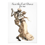 Save the Last Dance for me invitation