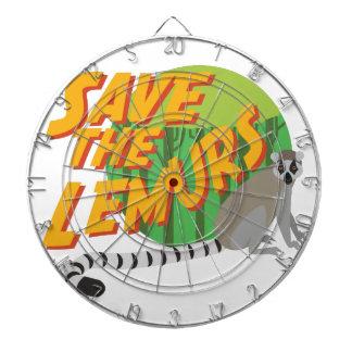 Save the Lemurs Dart Board
