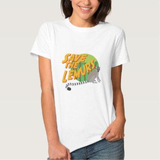 Save the Lemurs T Shirt