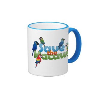 Save the Macaws Mugs