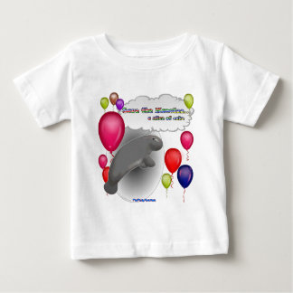 Save the Manatee.. a slice of cake Baby T-Shirt