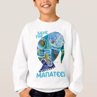 Save The Manatee Sweatshirt