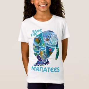 832ea7803 Manatee T-Shirts - T-Shirt Design & Printing | Zazzle