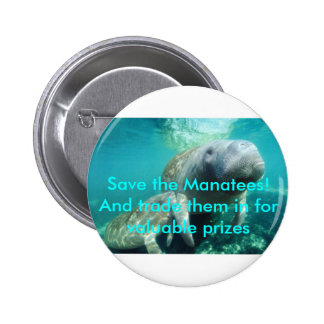 Save the Manatees! And trade them in Buttons