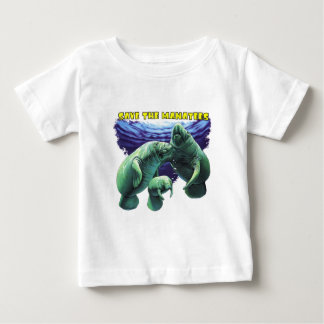 Save the Manatees Baby T-Shirt