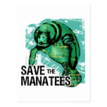 Save the Manatees Post Cards