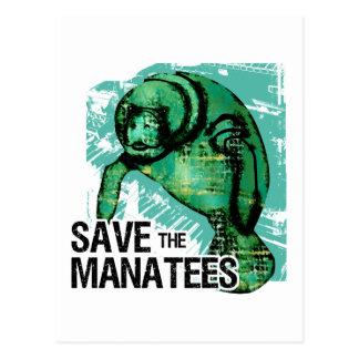 Save the Manatees Postcard