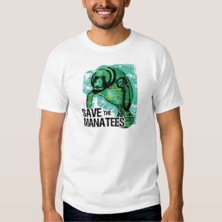 Save the Manatees T Shirt