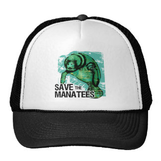 Save the Manatees Trucker Hat